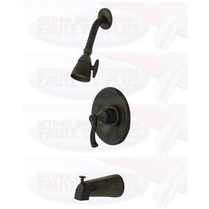 Tub & Shower Diverter Faucet Oil Rubbed Bronze KB8635FL