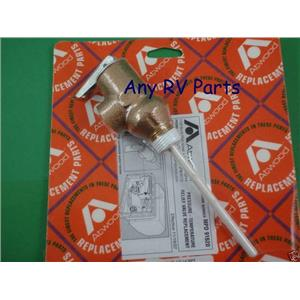 """Atwood 91604 Water Heater Pressure Relief 1/2"""" Valve 150psi"""