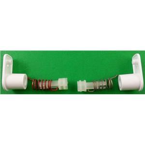 Dometic Refrigerator Freezer Door Hinge Kit with Hinge Pins 2002238000