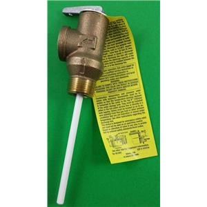 Suburban 161230 RV Water Heater 3/4 Relief Valve 161157 Lead Free