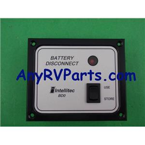 Intellitec Battery Disconnect Panel Switch 01-00066-004
