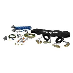 Blue Ox BX88190 Universal Tow Bar Towing Accessories Kit 10,000 lbs