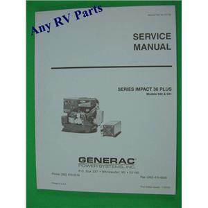 Generac Generator Service Manual Impact 36 Plus 0D1752