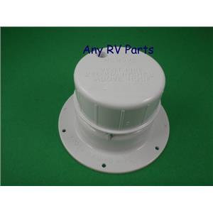 Ventline V2049-01 Polar White Plastic Plumbing Vent Cap 1-1/2 Inch