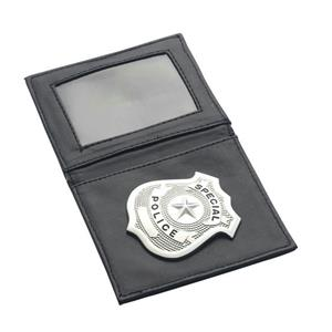 Police Badge In Wallet Costume Accessory
