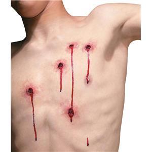 Reel FX: Bullet Hole Wounds Shot Appliance Kit