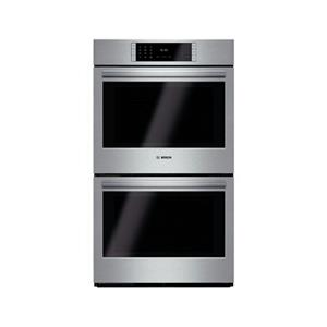 Bosch Benchmark 30 inch 4.6 cu ft 14 Modes Double Electric Wall Oven HBLP651UC