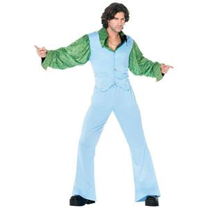 Disco King Adult 70s Mens Costume