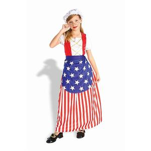 Betsy Ross Independence 4th of July Child Costume Medium 8-10