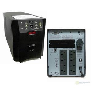 APC SUA1500 1500VA 980W 120V Smart-UPS Power Backup Tower USB  New Batteries