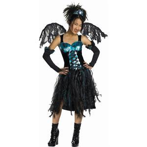 Aqua Fairy Teen Gothic Costume Size Large 10-12