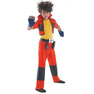 Bakugan Dan Classic Child Costume Size 4-6