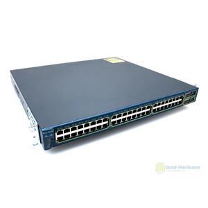 Cisco WS-C3550-48-SMI Catalyst 3550 48 Port 10/100 2 Port GBIC Ethernet Switch