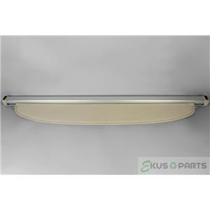 2004-2009 Toyota Prius Rear Cargo Cover with Retractable Shade for Privacy