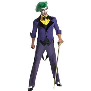 Men's Dc Super Villains Adult Joker Costume Size XL