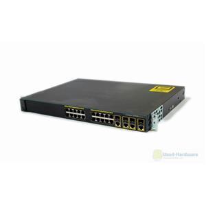 Cisco WS-C2960G-24TC-L Catalyst 2960G 24-Port 10/100/1000 4 T/SFP Gigabit Switch