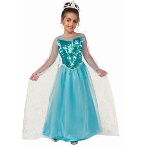 Princess Krystal Ice Princess Child Costume Size Medium