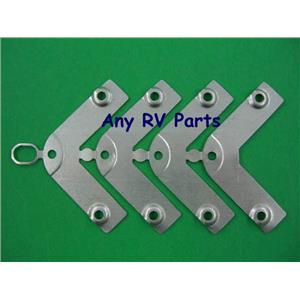 Atwood 91928 RV Water Heater Corner Brackets Set of 4