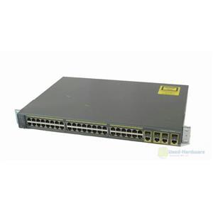 Cisco WS-C2960G-48TC-L Catalyst 2960G 48-Port Gigabit & 4 T/SFP Uplink Switch