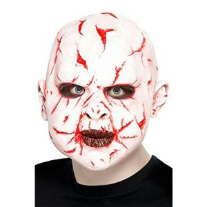 Smiffy's Men's Scar Face Cut Up Latex Overhead Mask
