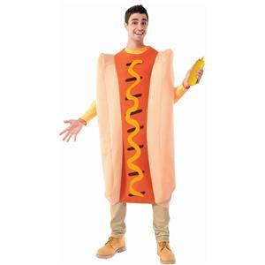 Adult Hot Dog Costume One Size