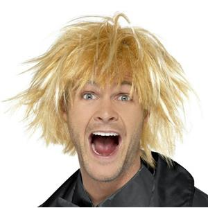 Smiffy's Men's 90's Blonde Messy Surfer Wig
