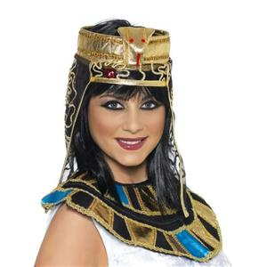 Smiffy's Women's Egyptian Headpiece With Snake Design