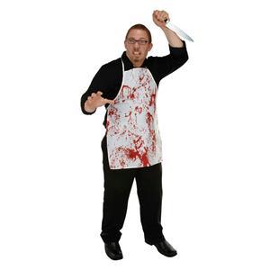 Halloween Horror Fabric Novelty Bloody Splatter Apron