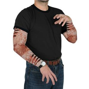 Beistle Zombie Bite Party Sleeves Halloween Costume Accessory
