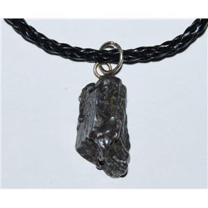 Campo del Cielo Genuine Meteorite Pendant Necklace 5-8 grams #2663 2o