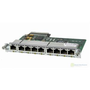 Cisco HWIC-D-9ESW 9-port 10BASE-T/100BASE-TX Ethernet Switch Router Module