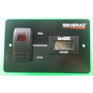 Generac Generator RV Remote Panel with Hour Meter 0061440