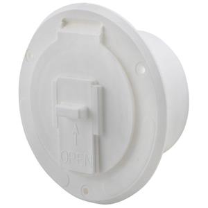 RV Motorhome Trailer Electrical Hatch Polar White S-23-10-A