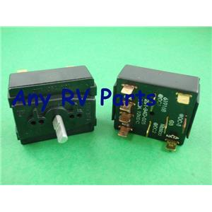 Norcold 619168 RV Refrigerator 4 Position Selector Switch