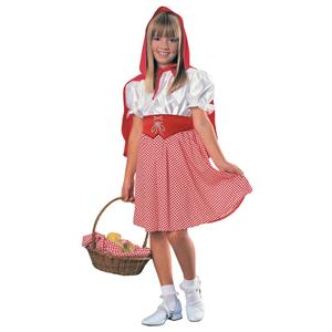Rubies Child's Red Riding Hood Costume Size Small 4-6