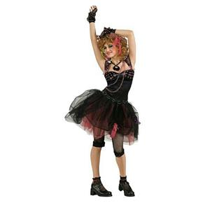 80's Diva Junior Size Costume Size Teen Large 10-12