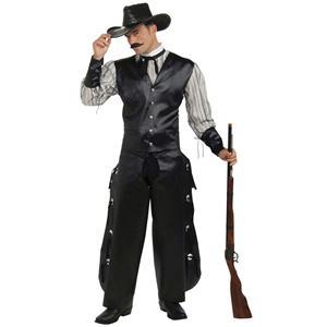 Rogue Gambler Cowboy Adult Costume