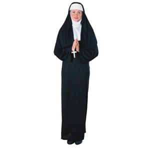 Adult Nun Costume Funny Saying Interchangeable Headband