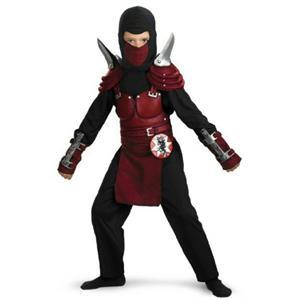 Blade Ninja Assassin Deluxe Boy's Costume Small 4-6