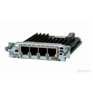 Cisco VIC3-4FXS/DID 4-port FXS/DID Voice/Fax Interface Module Card