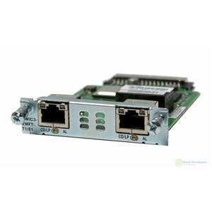 Cisco VWIC3-2MFT-T1/E1 2-Port T1/E1 Multiflex Trunk Voice/WAN Interface Module