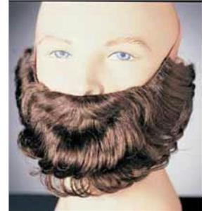Brown Character Costume Beard and Mustache Adult Men's Facial Hair Accessory
