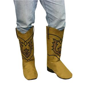 Cowboy Boot Top Covers Costume Accessory