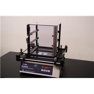 New Brunswick Bohdan 2180 1805T Miniblock Shaker w/ Rack Holder & Vile Heater