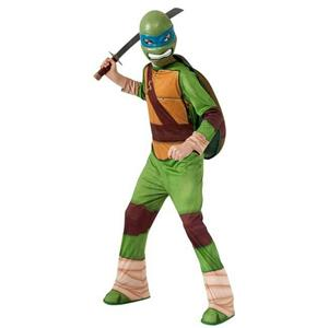 Teenage Mutant Ninja Turtles Leonardo Child Costume Rubie's Size Large 12-14