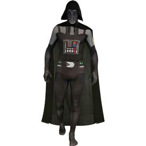 Rubies Costume Star Wars Darth Vader 2nd Skin Full Body Suit Size Large