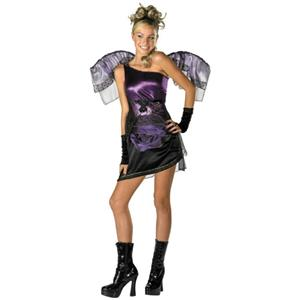 Purple Grecian Fairy Girls Costume Size Large 10-12