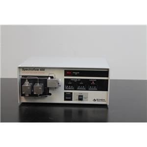 Applied Biosystems Spectroflow 400 Solvent Delivery System Model 9001-4001
