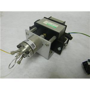 Rheodyne- Part #7010 Sample Injection Valve - w/ Model #5701 Pneumatic Actuator