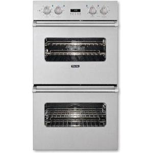 """Viking Professional Premiere 30"""" Double Electric Convection Oven VEDO5302SS(4)"""